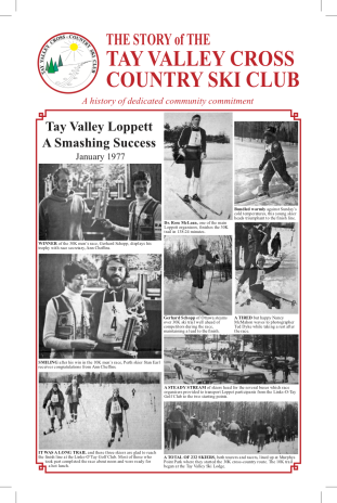 tay valley xcountry ski book 2018